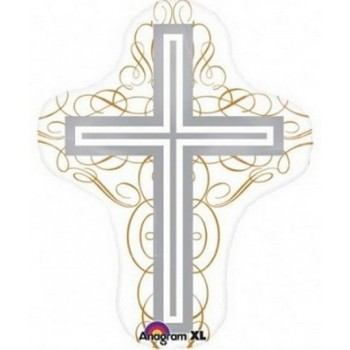 Palloncino Mylar Super Shape 71 cm. Elegant Cross