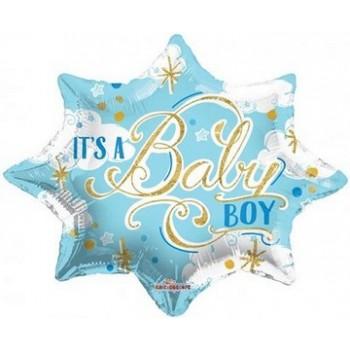 Palloncino Mylar 45 cm. Boy - Baby Boy