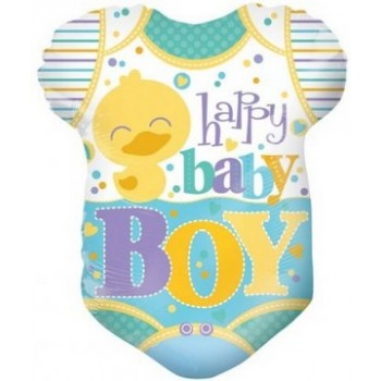 Palloncino Mylar 45 cm. Boy - Baby Clothes Boy
