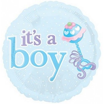 Palloncino Mylar 45 cm. Boy - It's a Boy