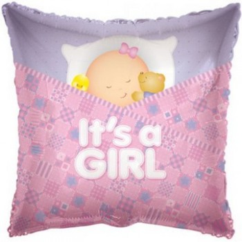 Palloncino Mylar 45 cm. Girl - Baby Boy Sleeping