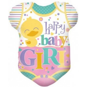 Palloncino Mylar 45 cm. Girl - Baby Clothes Girl
