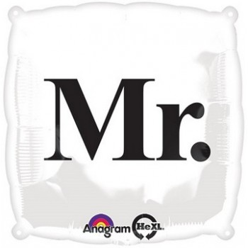Palloncino Mylar 45 cm. Mr.