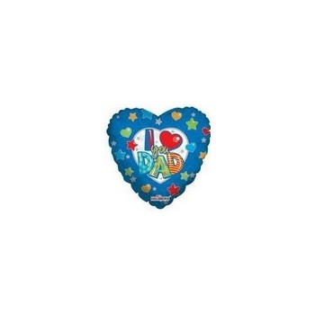 Palloncino Mylar Micro 10 cm. Only I Love You Dad