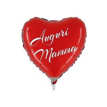 Palloncino Mylar Mini Shape 22 cm. Auguri Mamma