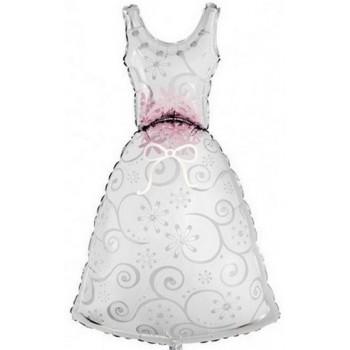 Palloncino Mylar Super Shape 116 cm. Vestito Sposa