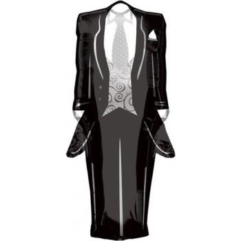 Palloncino Mylar Super Shape 91 cm. Tuxedo