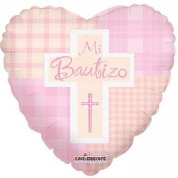 Palloncino Mylar 45 cm. Mi Bautizo