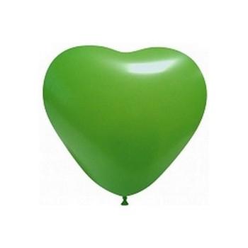 Palloncino in Lattice Cuore 12,5 cm. Verde Scuro