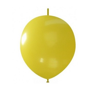 Palloncino in Lattice Link 32 cm. Giallo