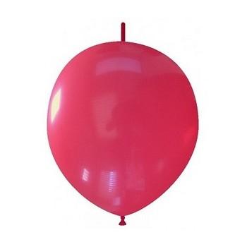 Palloncino in Lattice Link 32 cm. Rosso