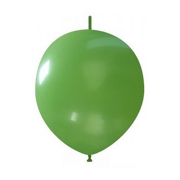 Palloncino in Lattice Link 32 cm. Verde Scuro