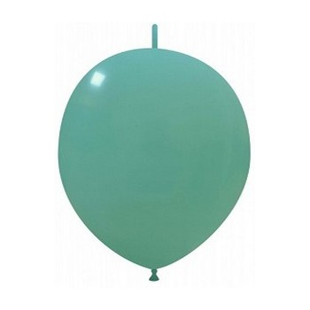 Palloncino in Lattice Link 32 cm. Verde Tiffany