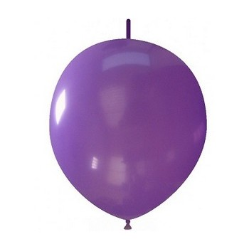 Palloncino in Lattice Link 32 cm. Viola
