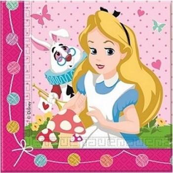 Alice nel paese delle Meraviglie - Tovagliolo 33x33 cm. - 20 pz.