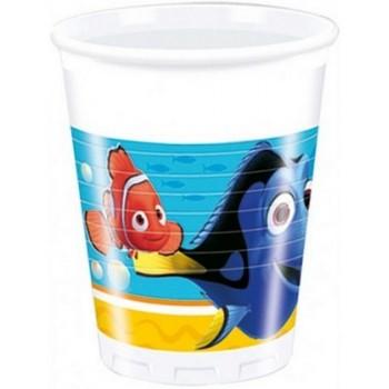 Alla ricerca di Dory - Bicchiere Plastica 200 ml. - 8 pz.