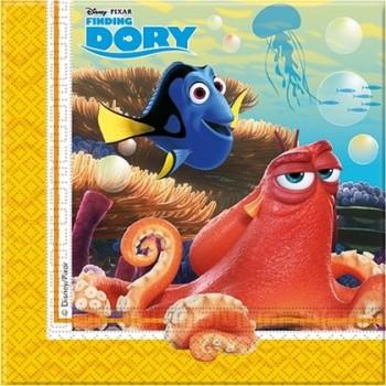 Alla ricerca di Dory - Tovagliolo 33x33 cm. - 20 pz.