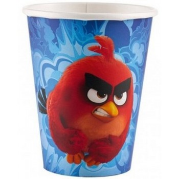 Angry Birds - Bicchiere Carta 266 ml. - 8 pz.