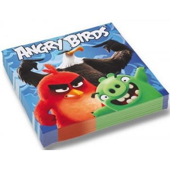 Angry Birds - Tovagliolo 33x33 cm. - 20 pz.