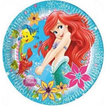 Ariel - Piatto Carta 23 cm. - 8 pz.