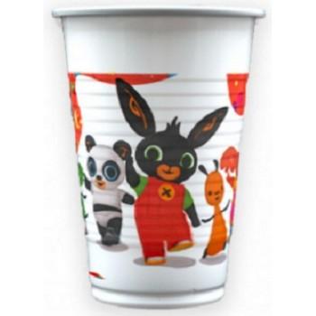 Bing - Bicchiere Plastica - 200 ml. - 8 pz.
