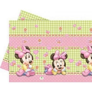 Minnie Baby - Tovaglia Plastica 120x180 cm.