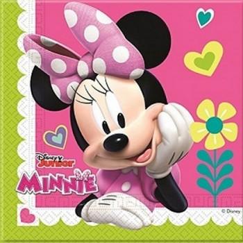 Coordinato Minnie Happy Helpers - Tovagliolo 33x33 cm. - 20 pz.
