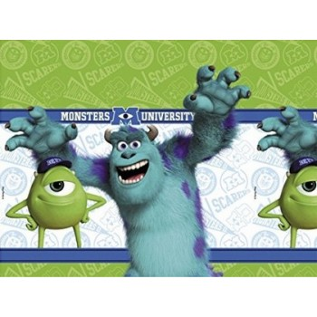 Monsters University - Tovaglia Plastica 120x180 cm.