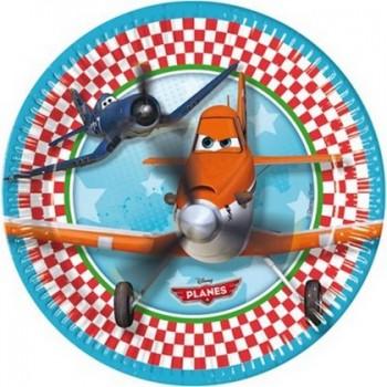 Planes - Piatto Carta 20 cm. - 8 pz.
