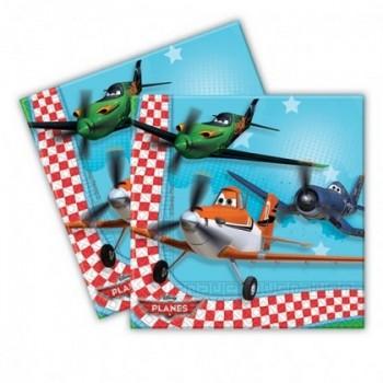 Planes - Tovagliolo 33x33 cm. 20 pz.