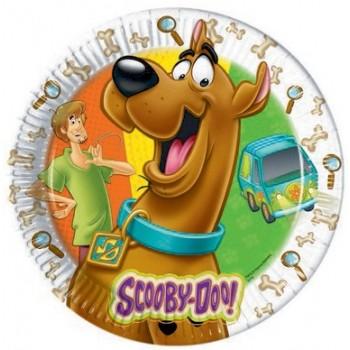 Scooby-Doo - Piatto Carta 23 cm. - 8 pz.