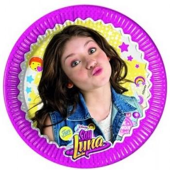 Soy Luna - Piatto Carta 20 cm. - 8 pz.