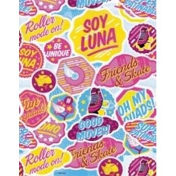 Soy Luna - Tovaglia Plastica 120x180 cm.
