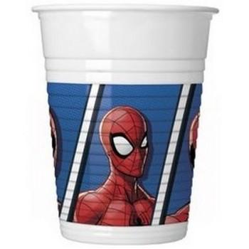 Spider-Man - Bicchiere Plastica 200 ml. - 8 pz.