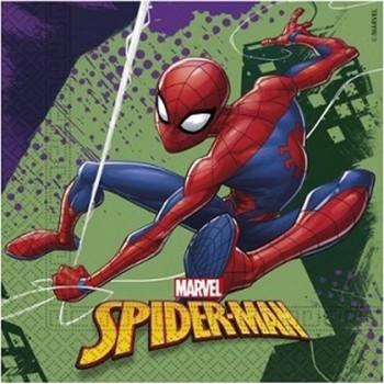 Spider-Man - Tovagliolo 33x33 cm. - 20 pz.