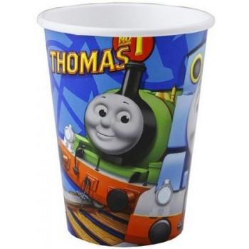 Trenino Thomas - Bicchiere Carta 266 ml. - 8 pz.