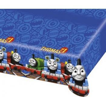 Trenino Thomas - Tovaglia Plastica 120x180 cm.