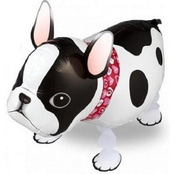 Palloncino Mylar Pet Walker 54 cm. Bulldog Francese