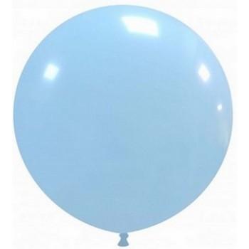 Palloncino Mylar Numero 6 Maxi - color Blu - 86 cm.