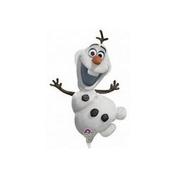 Palloncino Mylar Mini Shape Frozen Olaf - 35 cm.