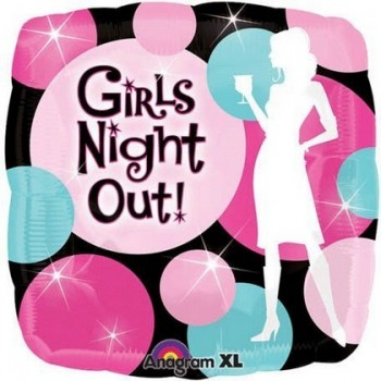 Palloncino Mylar 45 cm. Girls Night Out Party