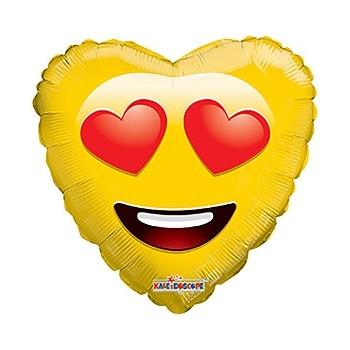 Palloncino Mylar 45 cm. Smiley In Love