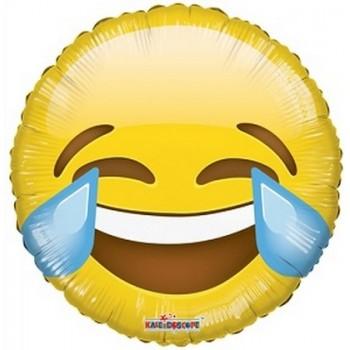 Palloncino Mylar 45 cm. Smiley Laugh Balloon Emoji