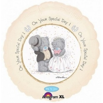Palloncino Mylar 45 cm. On Your Special Day Bears