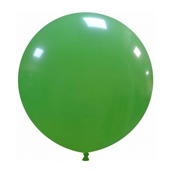 Palloncino in Lattice Rotondo 48 cm. Verde Scuro