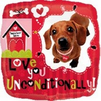 Palloncino Mylar 45 cm. Unconditional Love