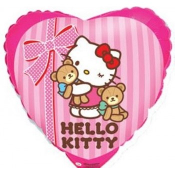 Palloncino Mylar 45 cm. Hello Kitty Best Friend