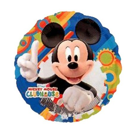 Palloncino Mylar 45 cm. Mickey Mouse Clubhouse Gear Pattern