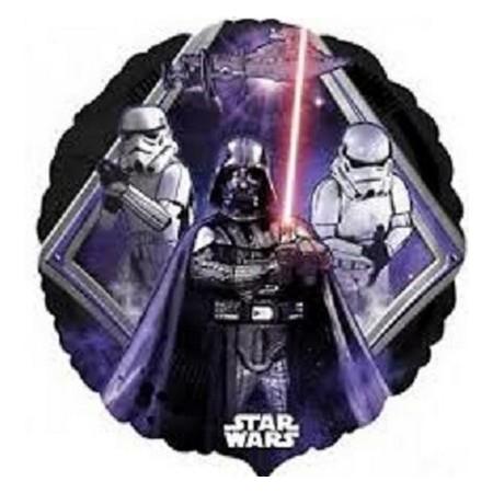 Palloncino Mylar 45 cm. Star Wars Darth Vader