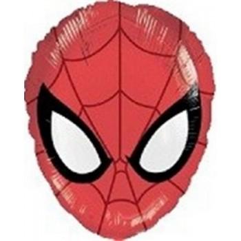 Palloncino Mylar 45 cm. Spider-Man Head Shape